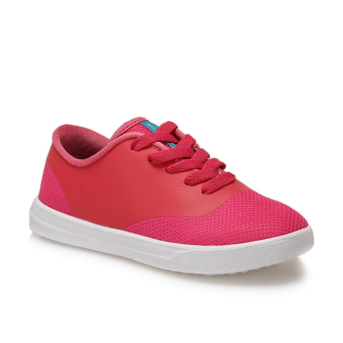 FLO GISELLA Fuchsia Female Child Sneaker Shoes KINETIX