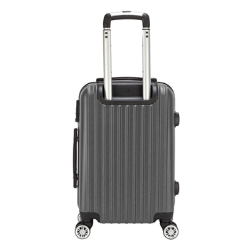 цена на 【Sinor】20 inch Waterproof Spinner Luggage Travel Business Large Capacity Suitcase Bag Rolling Wheels Gray Color US Free Shipping