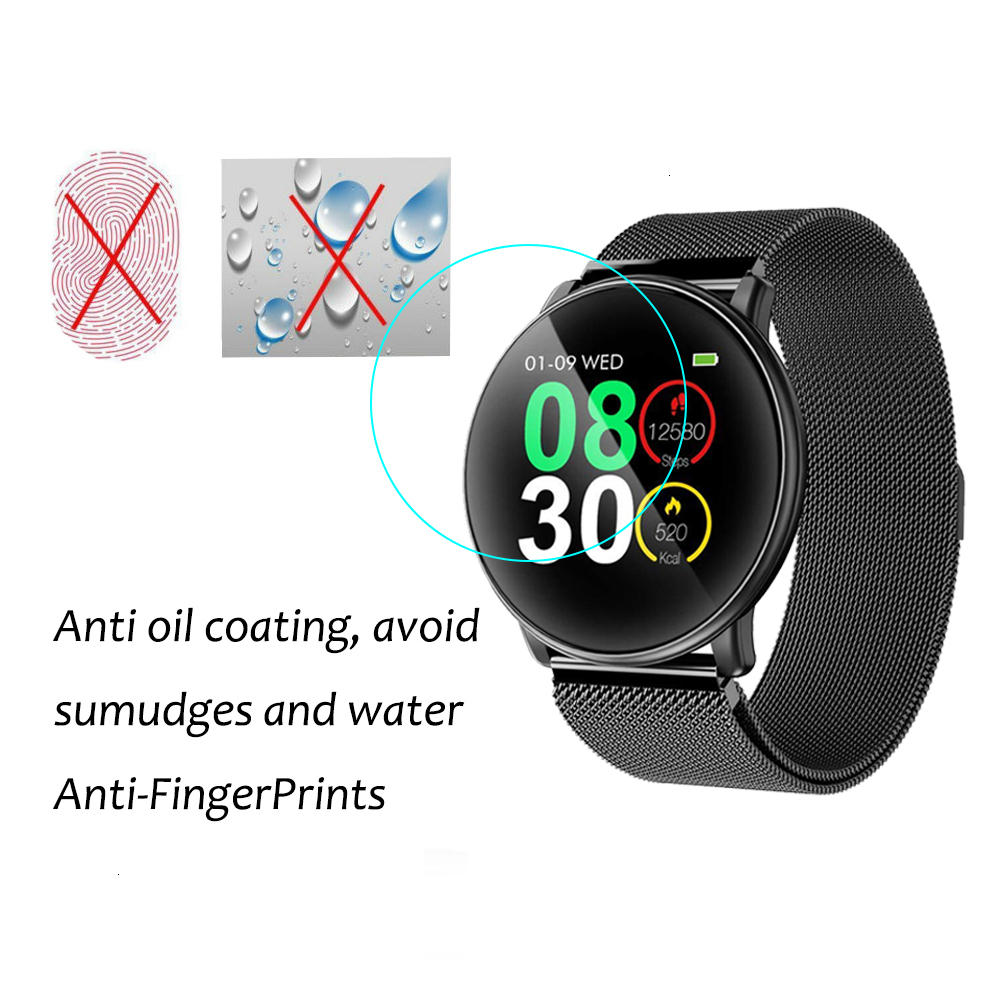3Pack Anti-Scratch TPU Soft Protective Film For UMIDIGI Uwatch Uwatch2 Smart Watch Full Screen Protector Hydrogel Clear Film