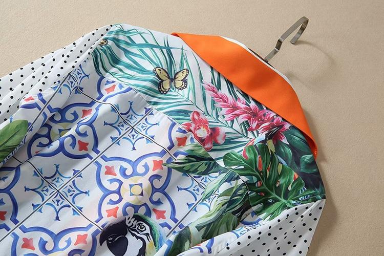 Damen Promi-Inspiriert Schulterfrei Rüsche Neon Blumen Tropisch Damen Overall
