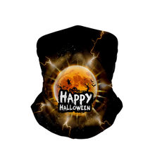 Halloween Pria dan Wanita 3d Digital Printing Multifungsi Magic Headscarv Fashion Bandana Syal 2020 Holloween Dropshipping(China)