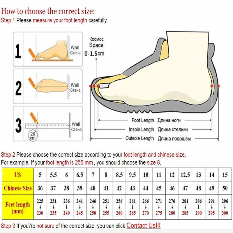 Botas de tobillo de invierno cálidas para Hombre Zapatos casuales de encaje de cuero de otoño Botas de trabajo impermeables para hombre Botas militares del Ejército Botas JKPUDUN