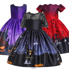 Fantasy Baby Girl Clothes Halloween Costume Cosplay Girls Dresses Party Costume Clothes Princess Dress Christmas Vestidos цена и фото