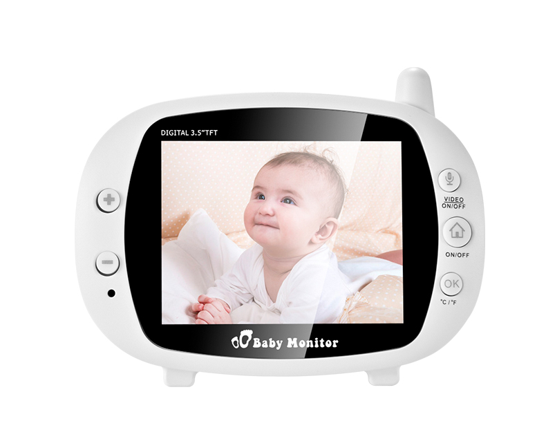 3 inch Baby Monitor With Security Night Vision Camera And a Voice Call For child Security 24