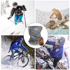 Зимний теплый шарф для велоспорта, для улицы, для бега, спортивный головной убор, шарф для лица, велосипедная бандана, Мужская простая модная...