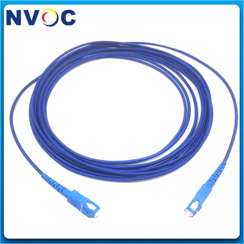 High-precision SMA905-SMA905 quartz fiber jumpers UV - visible core 300um 3m