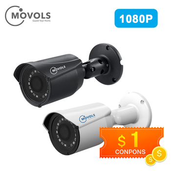 MOVOLS Security Camera Outdoor Waterproof Camera 1080P AHD / TVI / CVI/CVBS CCTV Analog Camera 2MP Sony Sensor Bullet IR Camera цена 2017
