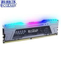 Pccooler 8GB 16GB RGB PC Memory RAM Memoria Module DDR4 8G 16GB 16GB 2666MHz ECC PC4 21300 For Computer Desktop