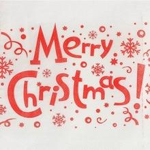Санта Клаус Счастливого Рождества туалетный рулон бумаги стол Гостиная Ванная комната ткани AC889