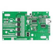 Para ryobi 18v/p103/p108 proteção da bateria placa de circuito pcb caixa plástico caixa pcb acessórios kit