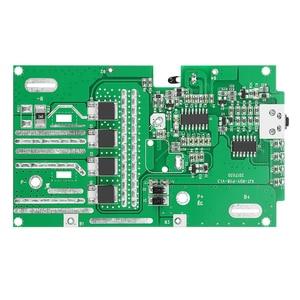 Image 1 - ل RYOBI 18 فولت/P103/P108 حماية البطارية لوحة دوائر كهربائية لوحة دارات مطبوعة البلاستيك علبة البطارية PCB صندوق شل اكسسوارات عدة