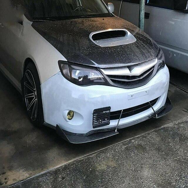 Crochet de remorquage avant plaque dimmatriculation support de montage ensemble pour 08-14 Subaru Impreza WRX STi