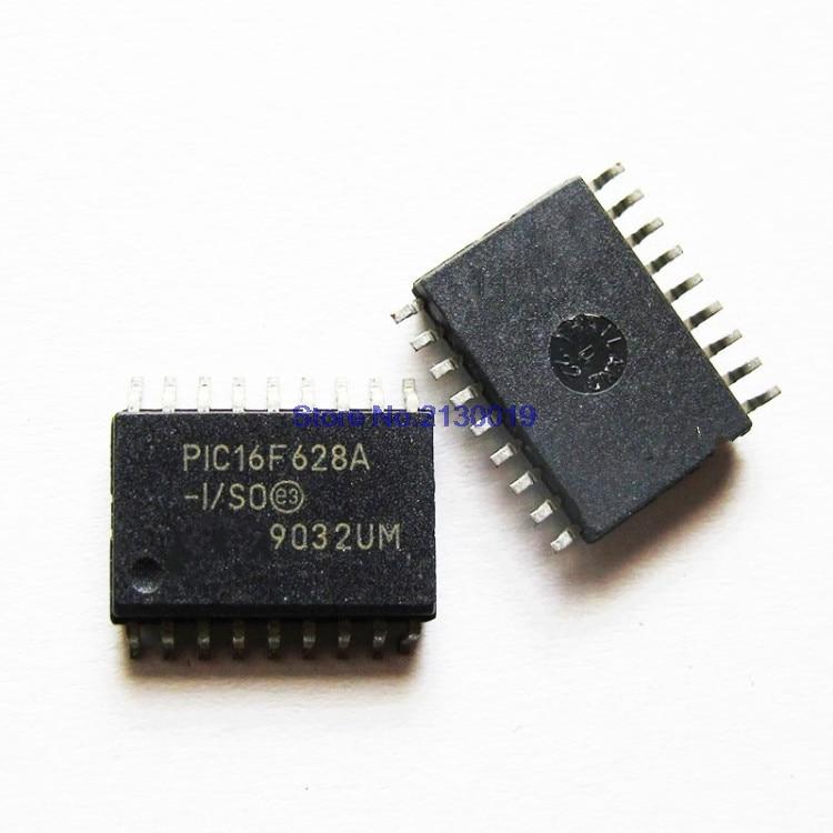 4pcs/lot PIC16F628A-I/SO 16F628A-I/SO PIC16F628A PIC16F628 SOP18 In Stock
