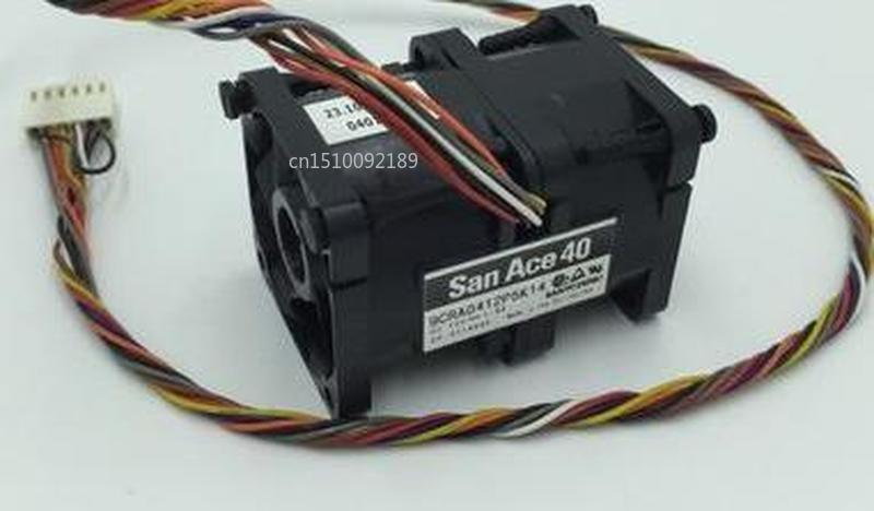 For 4056 12V 1.8A 9CRA0412P5K14 Automotive Supercharged Fan Server Fan Free Shipping