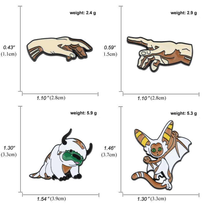 Design de logotipo personalizado do vintage do vintage do vintage do vintage dos desenhos animados da mão de deus de michelangelo