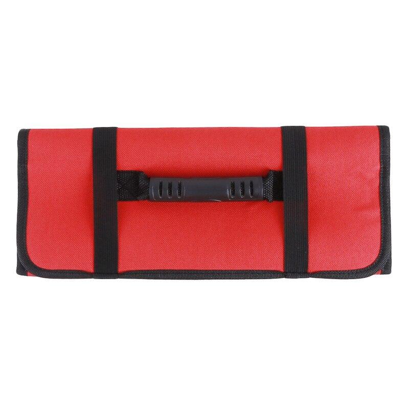 Bolsas de cuchillo de Chef rollo bolsa de transporte bolsa de cocina portátil almacenamiento duradero suministros de cocina