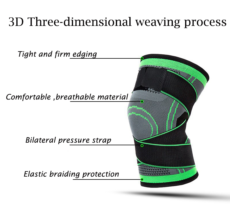 Kneepad Support Professional Protector Sports Knee Pads Breathable Bandage Knee Brace Basketball Tennis Cycling (41)