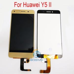 Image 2 - Tela de lcd para huawei y5 ii, display de substituição para tela cun u29 l21 l01 l02 l03 l22 l23 l33 com touch peças de reparo