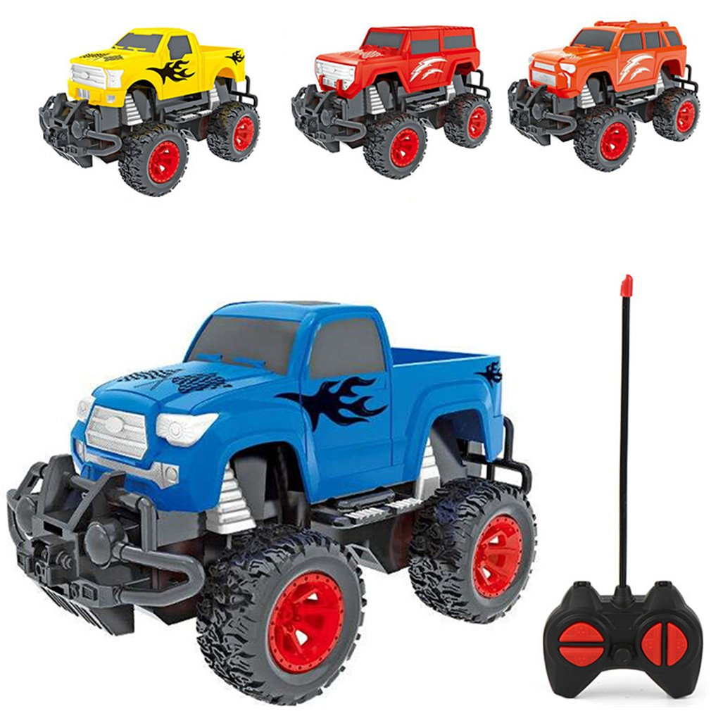 1:32 RC Off road Pickup Truck Car 2.4G Remote Control Climbing Crawler Vehicle Model RTR Toy For Kids Gift|RC Cars| |  - title=
