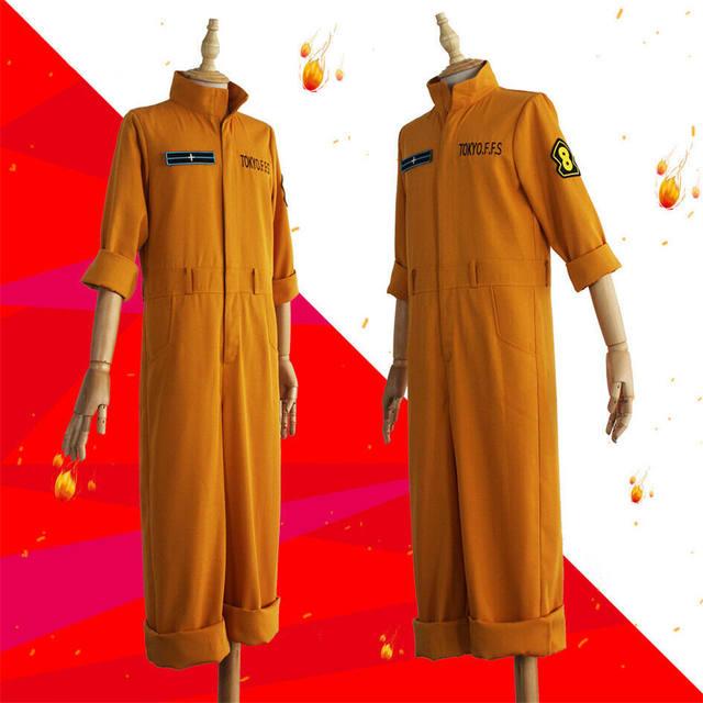 FIRE FORCE SHINRA KUSAKABE COSPLAY