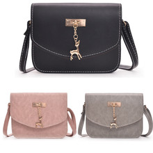 Fashion Small Crossbody Bags for Women 2019 Mini PU Leather Shoulder Messenger Bag Girl 9.16