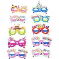 Gafas de sol de colores adorables para niños y niñas, 10 Uds., para cumpleaños