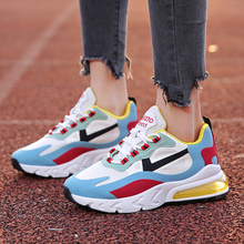 2020 Spring New Street-Style Air Cushion Airmax Sneakers Women's Platform Dad Shoes Women's Running Shoes Women's