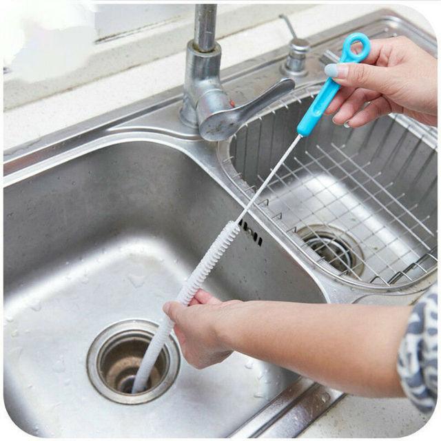 Flexible Sink Cleaner Brush.