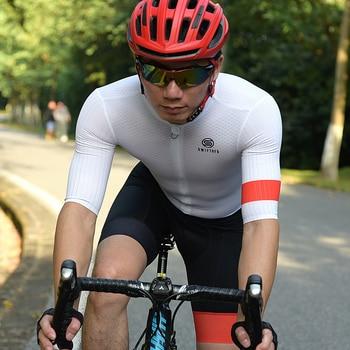 Swiftofo preto branco triathlon terno ciclismo roupas de estrada dos homens ropa de ciclismo 2020 skinsuit conjunto camisa ciclismo 1