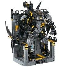 цена на Batman Hellbat Compatible With 7143 Batman Super Heroes Model Building Blocks Boys Birthday Gifts Kids Toys