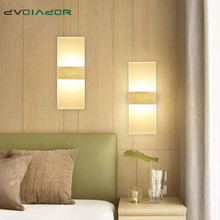 Modern Led Wall Light fixture staircase lighting Wall sconce lamp bedside lamp LED Wall lamp for bathroom mirror light AC85~265V
