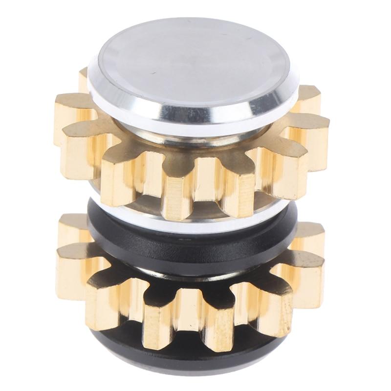 Spinner Fidget-Toy Gear Stress Relief Finger-Edc Metal-Alloy MINI Gift 1-Pc img4