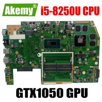 X570UD Motherboard For Asus TUF YX570U YX570UD X570U X570UD Laptop motherboard Mainboard i5-8250U CPU GTX1050 GPU