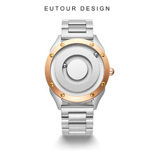 EUTOUR2021 new arrival Original new unisex watch quartz watch, simple luxury couple watch 40mm dial. 26mm stainless steel strap
