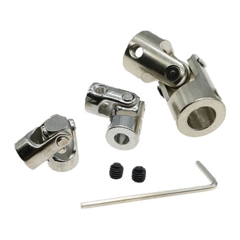 Metal Universal Coupling Joint Connector Multi-Specification 2 2.3 3 3.17 4 5mm 6mm 8mm 10mm Vehicle and Vessel Model