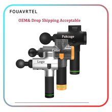 FOUAVRTEL Deep Body Massager Electronic Muscle Massage Gun Relaxation Device Therapy