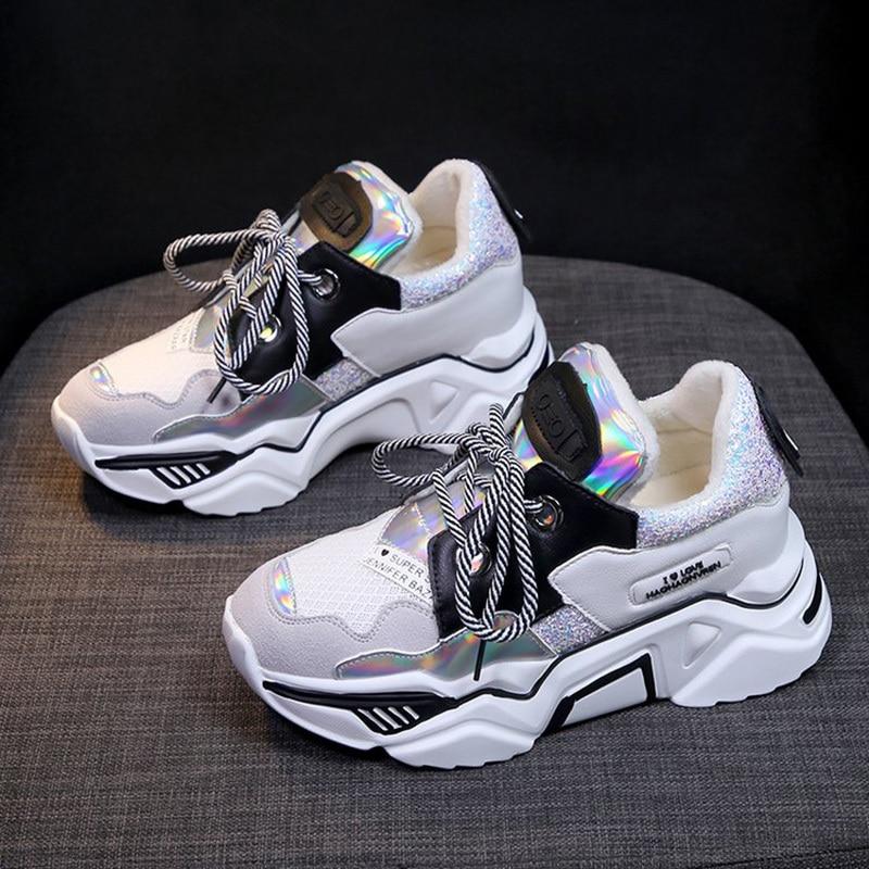 Women Flat Sport Shoes Ladies Casual Walking Hiking Running Sneakers Woman Breath Fitness Jogging Tennis Shoes