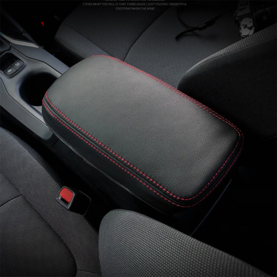Yimaautotrims Middle Armrest Storage Container Box Protection Pad Cover Kit Fit For Toyota Corolla 2019 2020 Interior Mouldings