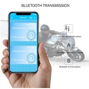Image 2 - Zeepin V100B TPMS Bluetooth Tire Pressure Monitoring System APP Modus 2PCS Externe Sensoren Für Motorräder