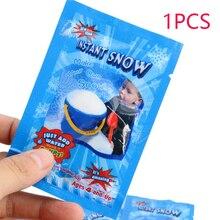 1 Pack Artificial Snow Instant Powder Fluffy Snowflake Kids Room Decoration Frozen Party Magic Prop Christmas Decor M