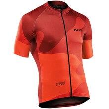 NW Summer Cycling Jersey Men Short Sleeve Shirts MTB Bicycle Jeresy Cycling Wear Bike Clothing Road Team Bicycle Wear Shirts недорого