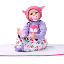 Reborn Baby Doll 47 cm Full Of Hope Boneca Reborn Dolls Realistic Newborn Lifelike Full Body Silicone Babies Doll Christmas Gift недорого