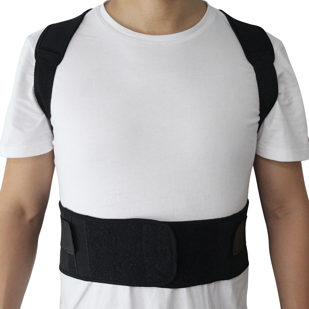 Adjustable Posture Belt to Pull Shoulder and Back for Correct Posture also Provides Central Back Support with Magnetic Contact  in Spine and Lumber Region 10