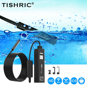 TISHRIC Wifi Endoscope Camera For The Phone Borescope Inspection Camera Endoscope For Smartphone Video Endoscope for Android