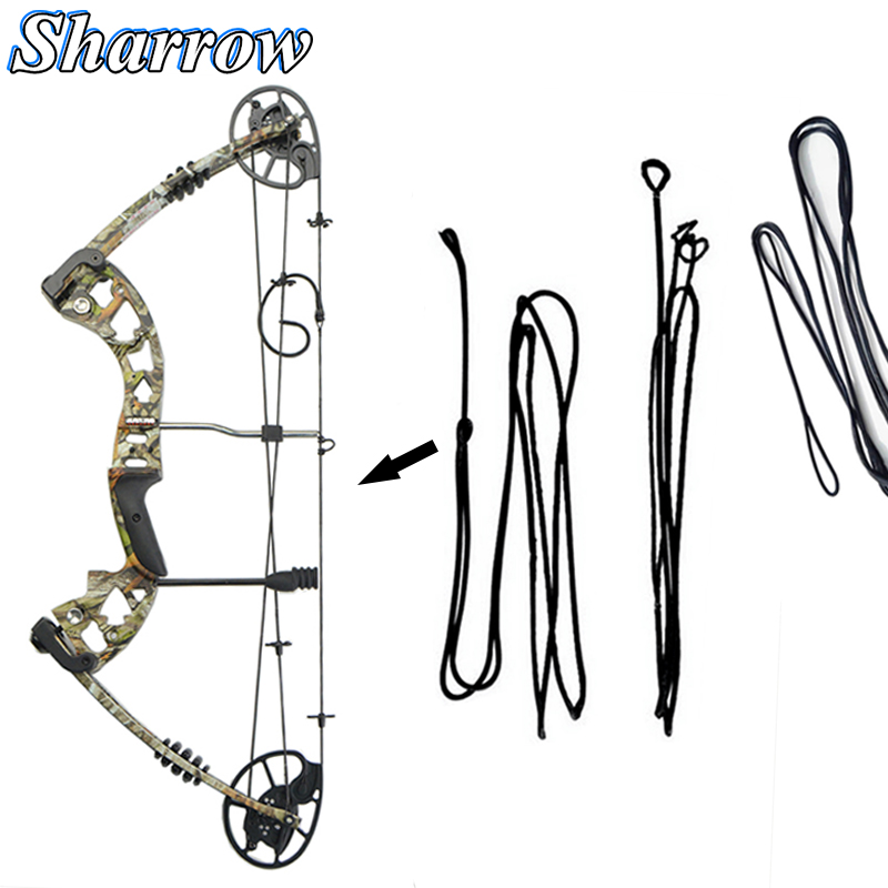 JUNXING M125 Compound Bow String Original Factory For Replace Change String Archery Hunting Bow Shooting High Quality Accessorie