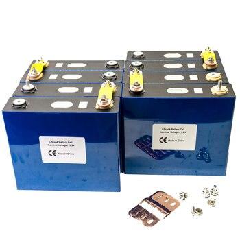 8PCS 3.2V 120Ah lifepo4 battery GRADE A LFP lithium solar 24V120Ah cells not 100Ah US EU TAX FREE UPS or FedEx Fast delivery