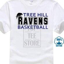 Новая стильная футболка с воронами и деревом для футбола ТВ