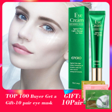 EFERO Eye Cream Peptide Collagen Essence Anti-Wrinkle Cream for Eye Remover Dark Circles Eye Care Against Puffiness Blue Light efero eyes creams firming eye anti puffiness dark circles under eye remover anti wrinkle against puffiness blue light eye cream