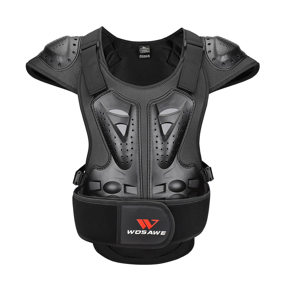 WOSAWE Motorcycle Armor Vest Racing Chest Protector Cycling Motocross Off-Road Ski Body Protective Snowboarding Jackets Adult