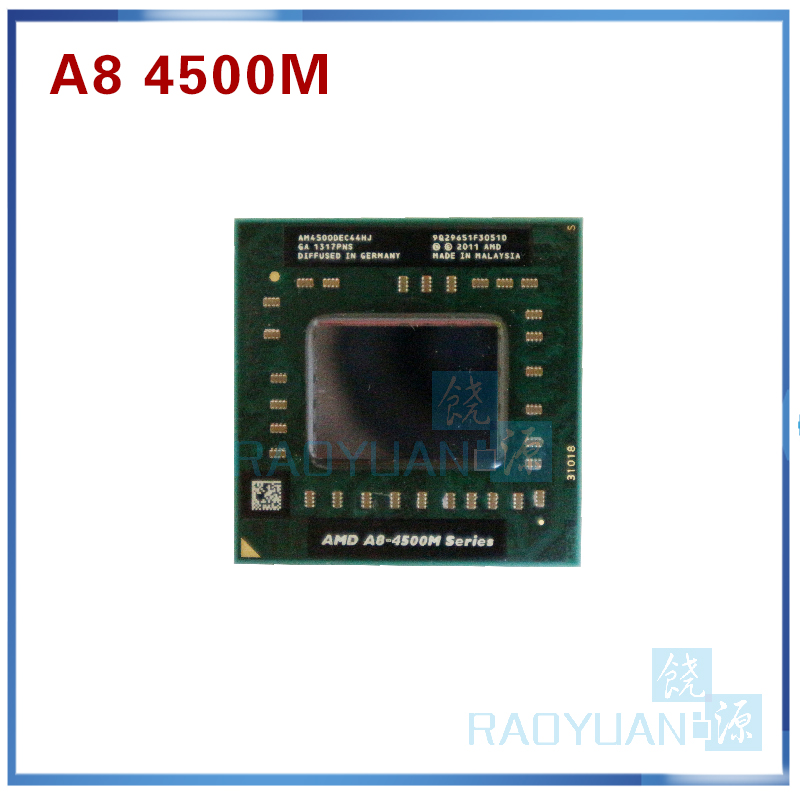 AMD Laptop CPU FS1 3520M A8-4500m-Sell Quad-Core A8-Series AM4500DEC44HJ